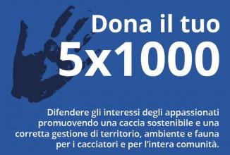 5 per mille a Federcaccia provinciale Brescia