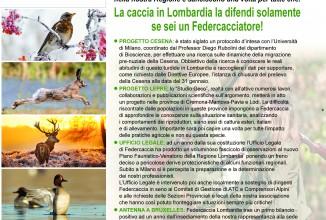 Assemblea Federcaccia Lombardia: fatti non parole a difesa della caccia