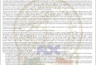 La posizione di Federcaccia Brescia in merito al commissariamento dell'Atc Unico